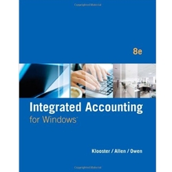 INTEGRATED ACCOUNTING FOR WINDOWS (W INTEGRATED ACCOUNTING SOFTWARE) 8e