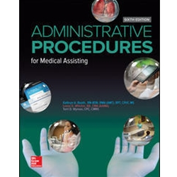BUNDLE: ADMINISTRATIVE PROCEDURES FOR MEDICAL ASSISTING, 6e.