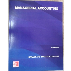 MANAGERIAL ACCOUNTING 15e