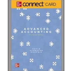 ACCT430 CONNECT ACCESS CARD FOR ADVANCED ACCOUTING 12e