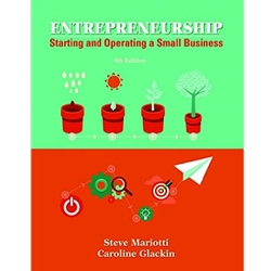 ENTREPRENEUSHIP: STARTING AND OPERATING SMALL BUSINESS 3e