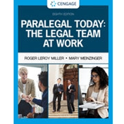PARALEGAL TODAY : THE LEGAL TEAM AT WORK 6e