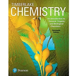 CHEMISTRY: AN INTRO TO GENERAL, ORGANIC AND BIOLOGICAL CHEMISTRY BUNDLE 12e