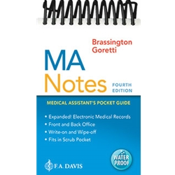 MA NOTES: MEDICAL ASSISTANT'S POCKET GUIDE 2e