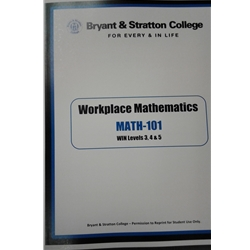 MATH 101 WIN APPLIED WORKBOOK LEVEL 3/4/5