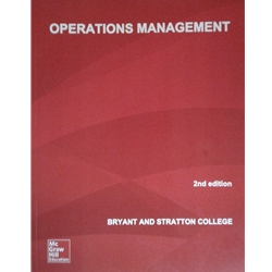 OPERATIONS MANAGEMENT, 1e.