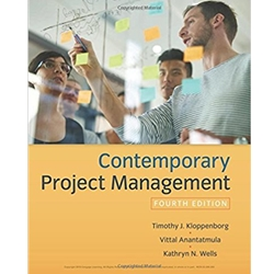 CONTEMPORARY PROJECT MANAGEMENT, 4e.