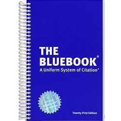 HARVARD LAW BLUE BOOK 20TH EDITION