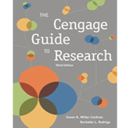 THE CENGAGE GUIDE TO RESEARCH  3e
