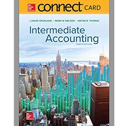 ACCT215 - INTERMEDIATE ACCOUNTING CONNECT CARD 9e