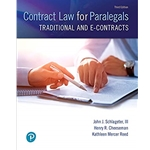 contract-law-for-paralegals-traditional-and-e-contracts-3e