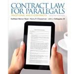 contract-law-for-paralegals-traditional-and-econt