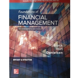 FOUNDATIONS FINANCIAL MANAGEMENT 15e