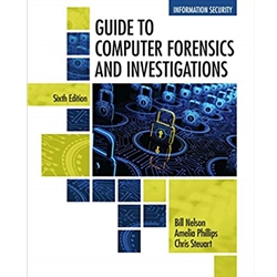 GUIDE TO COMPUTER FORENSICS AND INVESTIGATIONS, 6e.