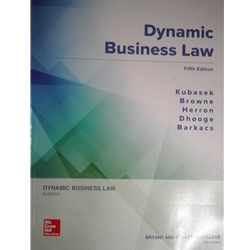 DYNAMIC BUSINESS LAW 4e. LOOSE-LEAF EDITION
