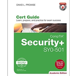 BUNDLE: COMPTIA SECURITY+ SYO-401 CERT GUIDE