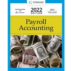 """PAYROLL ACCOUNTING 2020, 30 ed. With CENGAGENOW-BUSINESS PAYROLL ACCESS CARD (6 mos. TERM)"