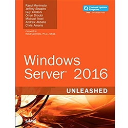 WINDOWS SERVER 2016 UNLEASHED, 2e.