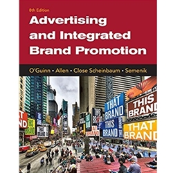 ADVERTISING AND INTEGRATED BRAND PROMOTION, 8e.
