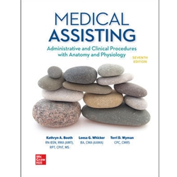 BUNDLE: MEDICAL ASSISTING TEXTBOOK and WORKBOOK, 6e.