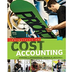 PRINCIPLES OF COST ACCOUNTING 17E