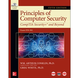 BUNDLE: PRINCIPLES OF COMPUTER SECURITY COMPTIA SECURITY+ AND BEYOND W/ (CDROM) EXAM SYO-501, 5e.